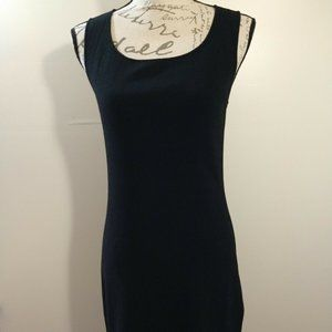 Ann Taylor Classic Black Knit Dress OFFERS WELCOME
